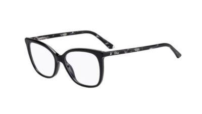 Christian Dior Montaigne50 WR7/16 BLACK HAVANA 52 Women's Eyeglasses