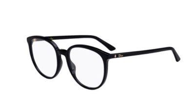 Christian Dior Montaigne54 807/19 BLACK 53 Women's Eyeglasses
