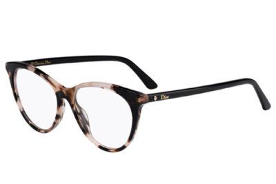 Christian Dior Montaigne57 HT8/15 PINK HAVANA 52 Women's Eyeglasses