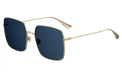 Christian Dior Diorstellaire1 LKS/A9 GOLD BLUE 59 Women's Sunglasses
