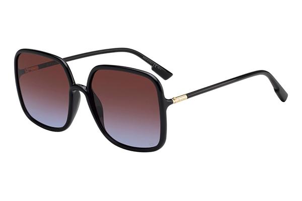 Christian Dior Sostellaire1 807/YB BLACK 59 Women's Sunglasses