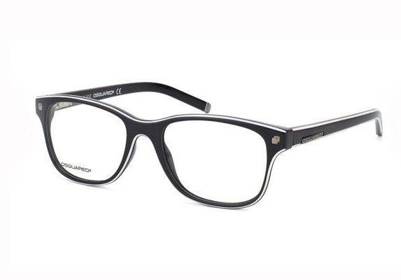 DSquared2 DQ5054 01A 52 Eyeglasses