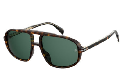 David Beckham Db 1000/s 086/QT DARK HAVANA 59 Men's Sunglasses
