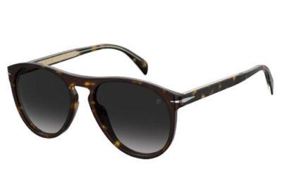 David Beckham Db 1008/s 086/9O DARK HAVANA 55 Men's Sunglasses