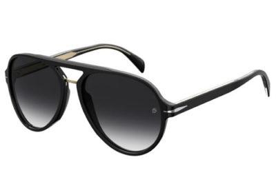 David Beckham Db 7005/s 807/9O BLACK 57 Men's Sunglasses