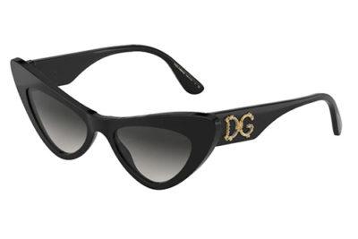 Dolce & Gabbana 4368 501/8G 52 Women's Sunglasses