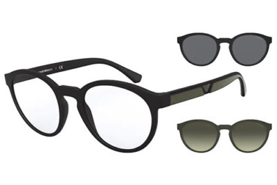 Emporio Ar Mani 4152 50421W 52 Men's Sunglasses