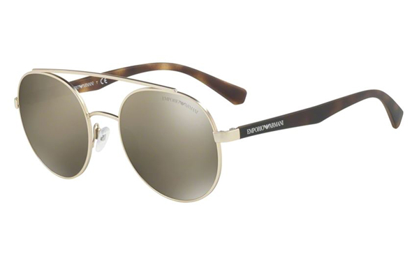 Emporio Ar Mani 2051 30135A 53 Men's Sunglasses