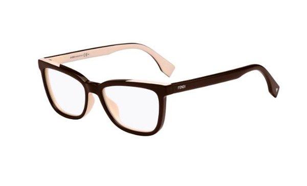 Fendi Ff 0122 MG1/16 BLACK PINK 53 Women's Eyeglasses