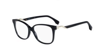 Fendi Ff 0232 807/15 BLACK 53 Women's Eyeglasses