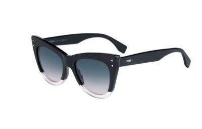 Fendi Ff 0238/s 3H2/JP BLACK PINK 52 Women's Sunglasses