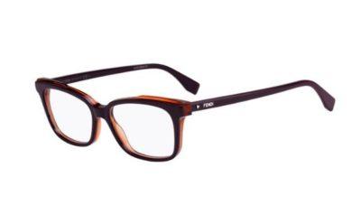 Fendi Ff 0252 B3V/15 VIOLET 52 Women's Eyeglasses