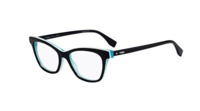 Fendi Ff 0256 807/17 BLACK 50 Women's Eyeglasses