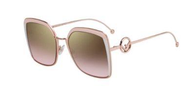 Fendi Ff 0294/s 35J/53 PINK 58 Women's Sunglasses