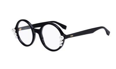 Fendi Ff 0298 807/22 BLACK 51 Women's Eyeglasses