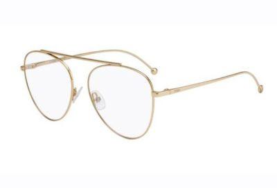 Fendi Ff 0352 J5G/17 GOLD 56 Women's Eyeglasses