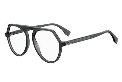 Fendi Ff 0385 KB7/17 GREY 53 Women's Eyeglasses