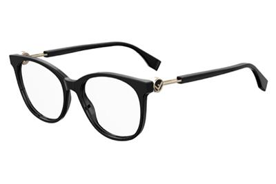 Fendi Ff 0393 807/17 BLACK 52 Women's Eyeglasses