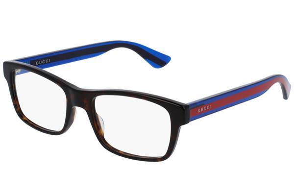 Gucci GG0006O avana 53 Men's Eyeglasses