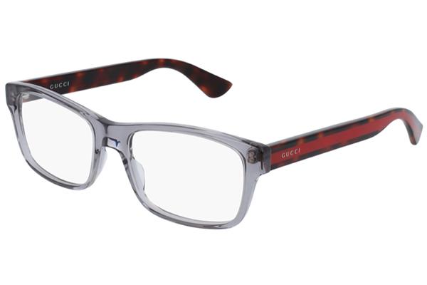 Gucci GG0006O grey 55 Men's Eyeglasses