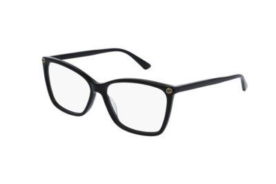 Gucci GG0025O black 56 Women's Eyeglasses
