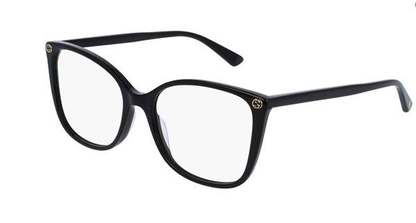 Gucci GG0026O 001-black 53 Women's Eyeglasses