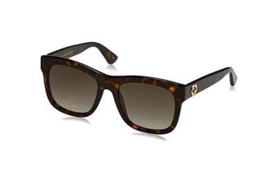 Gucci GG0032S avana 54 Women's Sunglasses