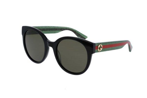 Gucci GG0035S 002-black 54 Women's Sunglasses