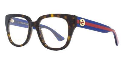 Gucci GG0037O avana 50 Women's Eyeglasses