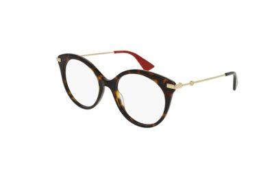 Gucci GG0109O 002-avana 50 Women's Eyeglasses