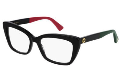 Gucci GG0165O 006 black black transpare 53 Women's Eyeglasses