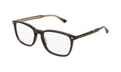 Gucci GG0188O 002-avana 53 Unisex Eyeglasses