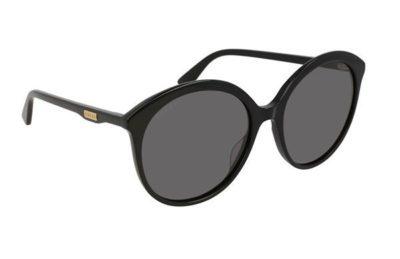 Gucci GG0257S 001 black black grey 59 Women's Sunglasses