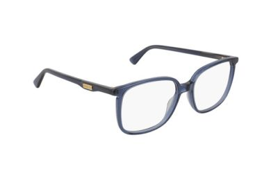 Gucci GG0260O 003-blue-blue-transparent 53 Unisex Eyeglasses