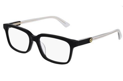Gucci GG0557OJ 003 black grey transparen 53 Women's Eyeglasses