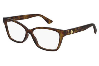 Gucci GG0634O 002 havana havana transpa 55 Women's Eyeglasses