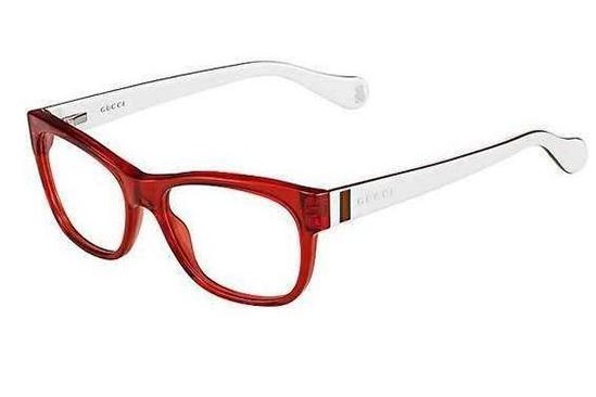 Gucci Gg 5008/c HAW/15 CRY BLCREAWH 46 Kids Eyeglasses