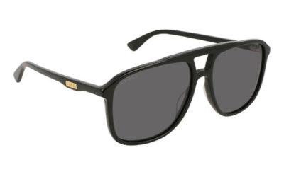 Gucci GG0262S 001 black black grey 58 Men's Sunglasses
