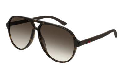 Gucci GG0423S 009 havana brown brown 60 Men's Sunglasses