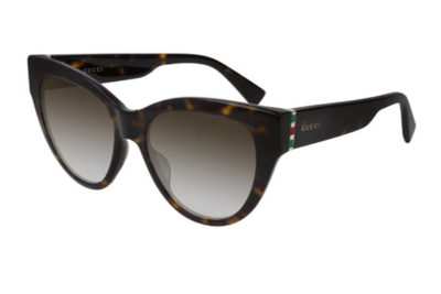 Gucci GG0460S 002 havana gold brown 53 Women's Sunglasses