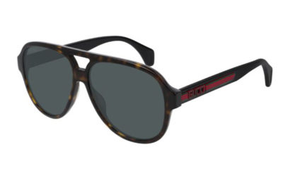 Gucci GG0463S 003 havana black green 58 Men's Sunglasses