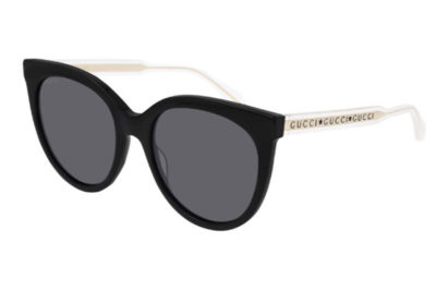 Gucci GG0565S 001 black crystal grey 54 Women's Sunglasses