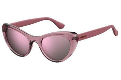 Havaianas Conchas LHF/VQ BURGUND OPAL 50 Women's Sunglasses