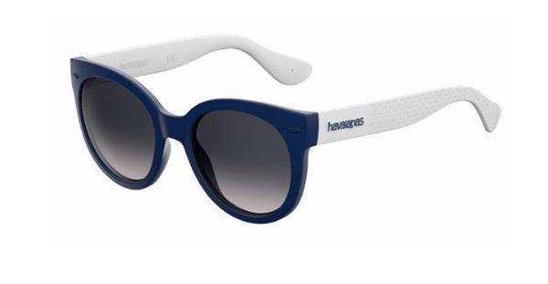Havaianas Noronha/m QMB/LS BLUE WHITE 52 Women's Sunglasses