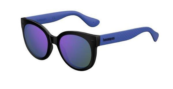 Havaianas Noronha/m QT2/TE BLACK VIOLET 52 Women's Sunglasses