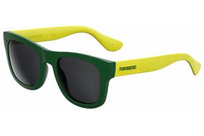 Havaianas Paraty/l QPN/Y1 GREEN YELLOW 52 Men's Sunglasses
