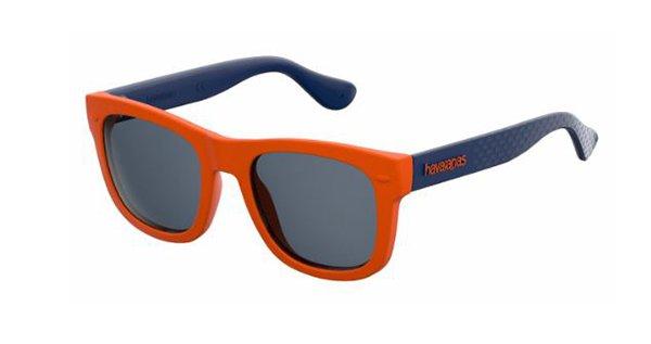 Havaianas Paraty/s QPS/9A ORANGE BLUE 48 Men's Sunglasses