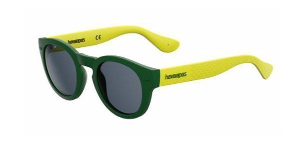 Havaianas Trancoso/m QPN/9A GREEN YELLOW 49 Unisex Sunglasses