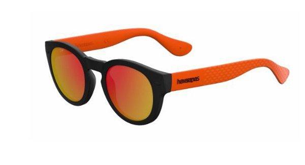 Havaianas Trancoso/m QTB/UZ BLACK ORANGE 49 Unisex Sunglasses