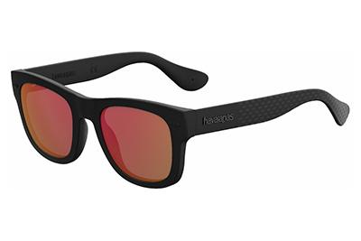 Havaianas Paraty/m O9N/UZ BLACK 50 Unisex Sunglasses